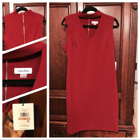 Calvin Klein Dresses & Skirts - Calvin Klein Plum Dress